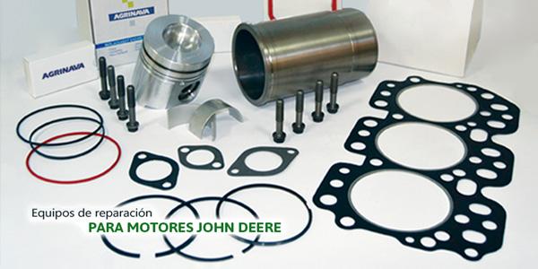 Equipo de reparacion para motores John Deere