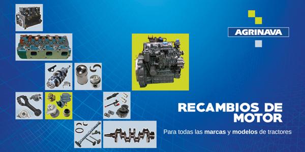 recambios de motor para tractores
