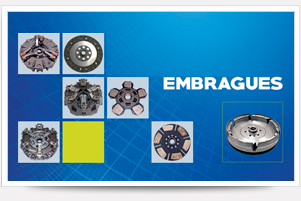 Embragues para tractor